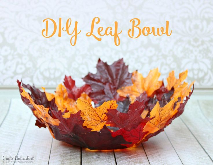 ModPodge-Leaf-Bowl