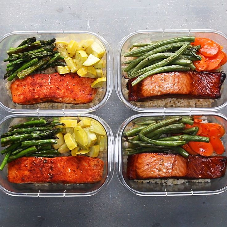 Salmon-with-Vegetables