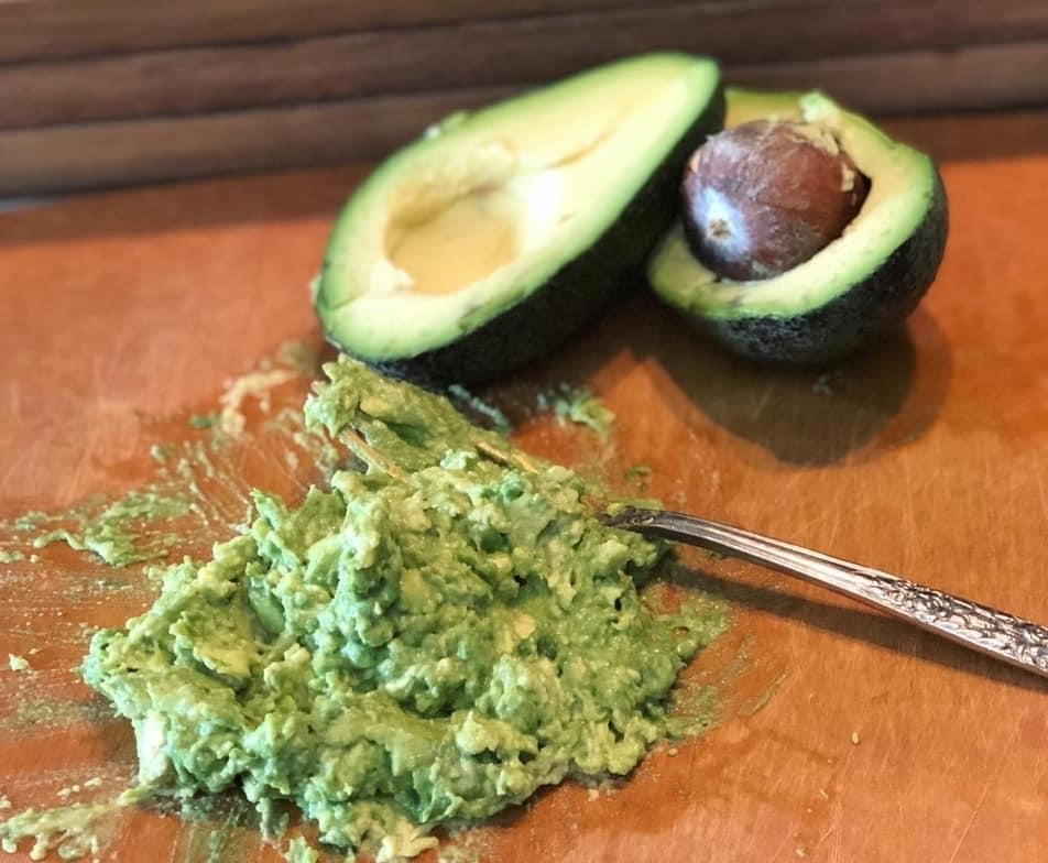 mashed-avocado